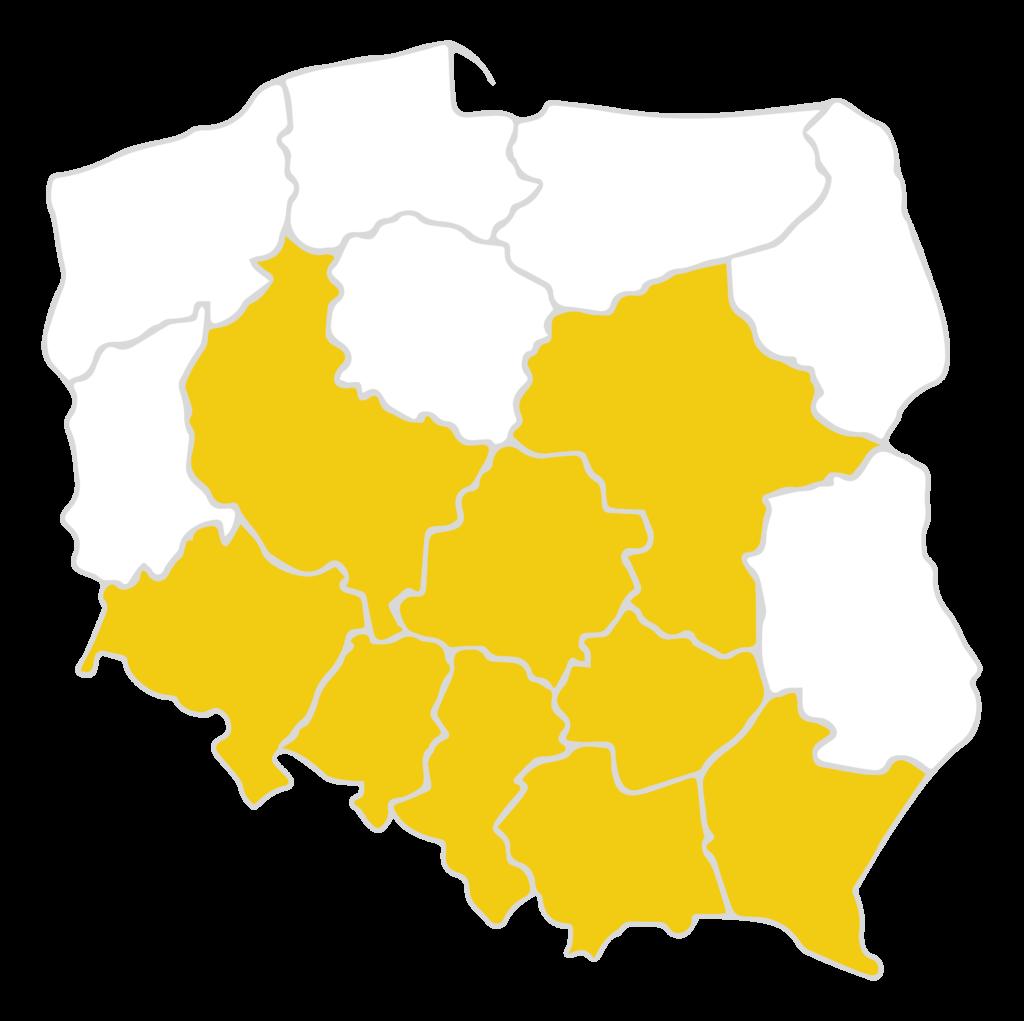 mapa działania woltberg